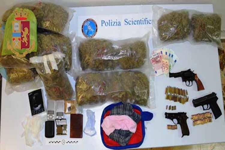 Quasi 5 Kg di marijuana sequestrata a S. Lucia sopra Contesse, due gli arresti