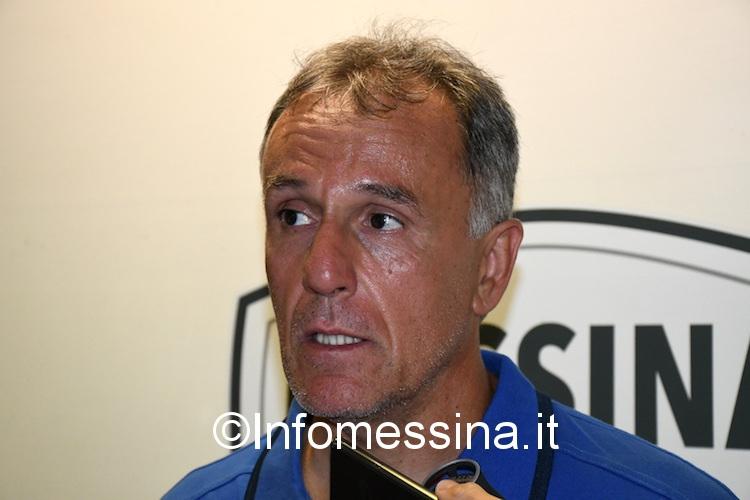 """Mancuso: """"Risultato giusto, il Messina sarà uno dei protagonisti del prossimo campionato"""""""