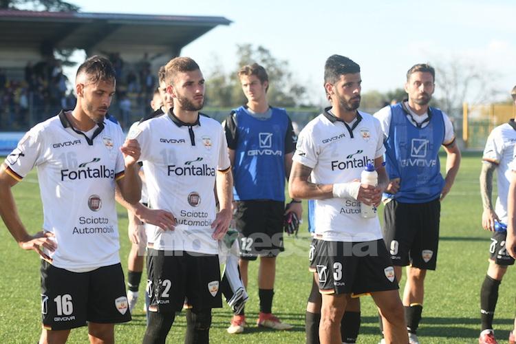 Difesa ancora inadeguata, l'Acr Messina pareggia 2-2 con la Cittanovese