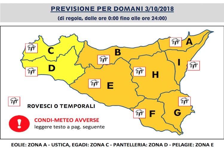 Allerta Meteo Arancione, scuole chiuse in provincia di Messina