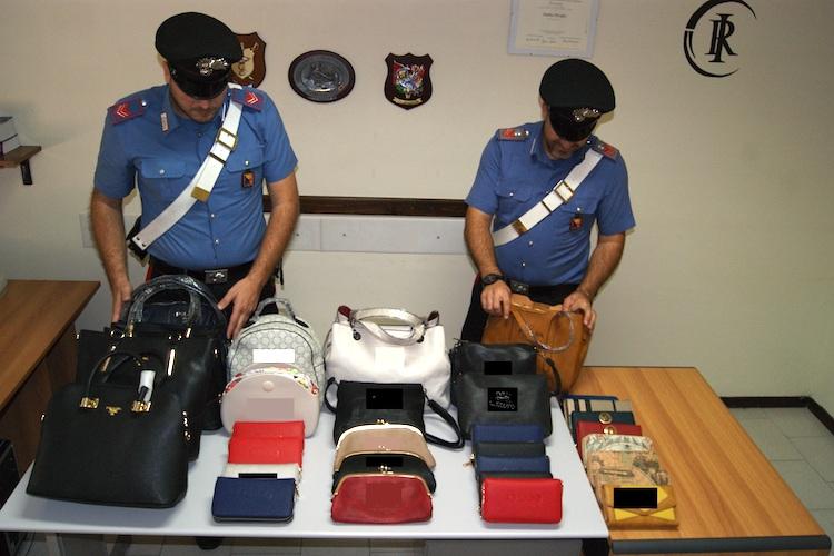 S. Fratello. Sequestrata merce contraffatta ad ambulante senegalese