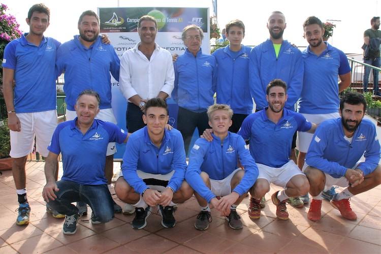 Arriva la prima vittoria del Ctv Messina nel campionato di serie A1 di tennis
