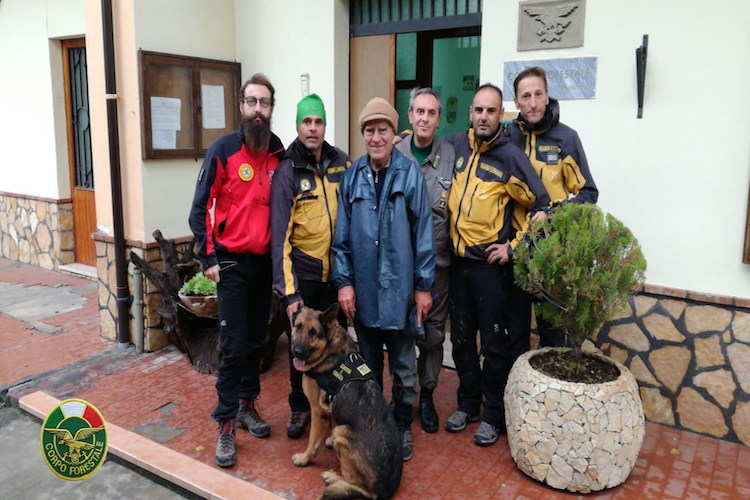 Cesarò, la Guardia Forestale salva un 72enne disperso sui Nebrodi