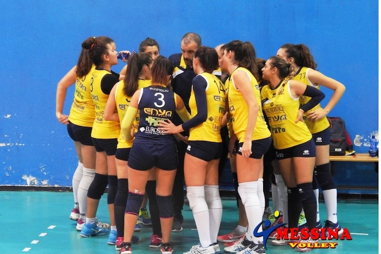 Il Team Volley si aggiudica il derby con il Messina Volley