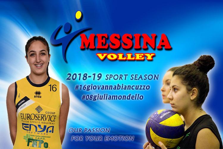 Il Messina Volley sposa la linea verde e conferma anche Biancuzzo e Mondello