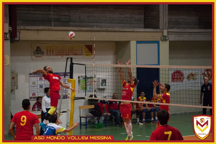 Debutto vincente per il Mondo Volley Messina, Aquila Bronte sconfitto al tie break