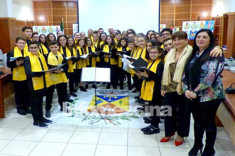 I giovani cantori di Torregrotta per incontrare il Papa ed eseguire brani sacri