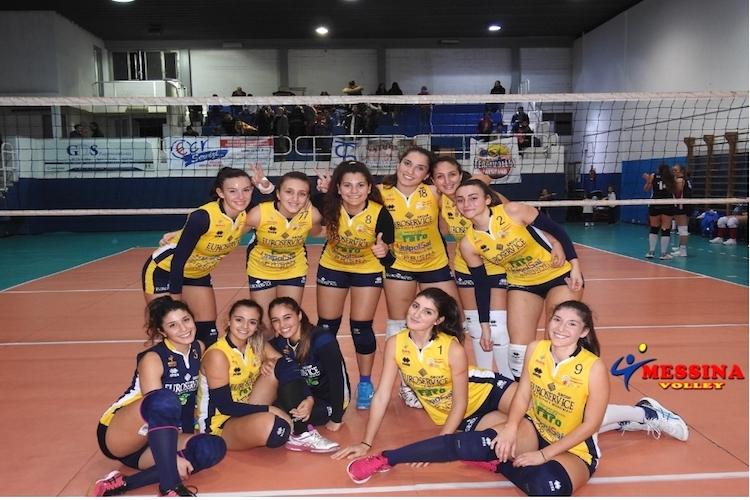 Il Messina Volley conquista il derby con il Cus Unime per 3-0
