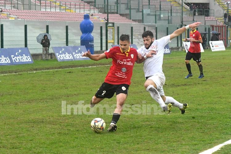 Al Messina non basta il cuore e la grinta, con il Roccella termina 0-0