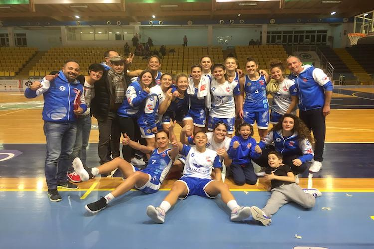 L'Alma Basket Patti chiude il 2018 in bellezza, vittoria e primato in classifica