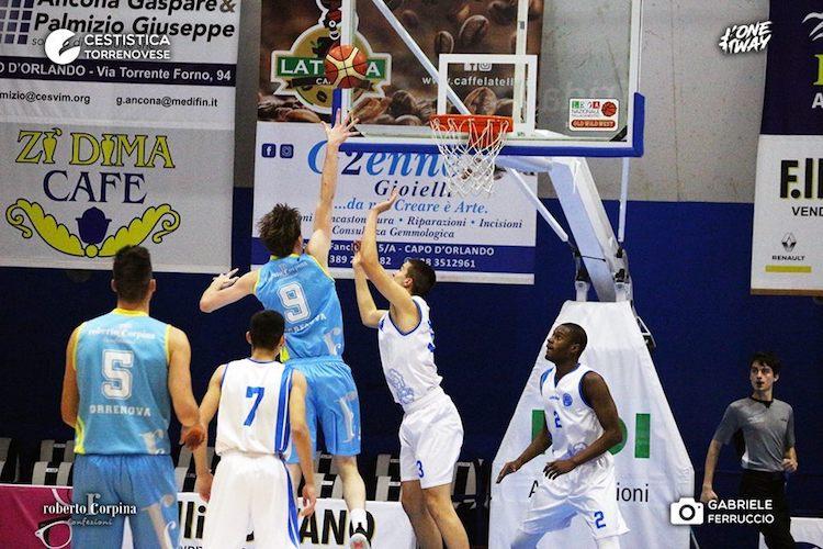 Cestitica Torrenovese battuta nei secondi finali, al PalaFantozzi è 80-77