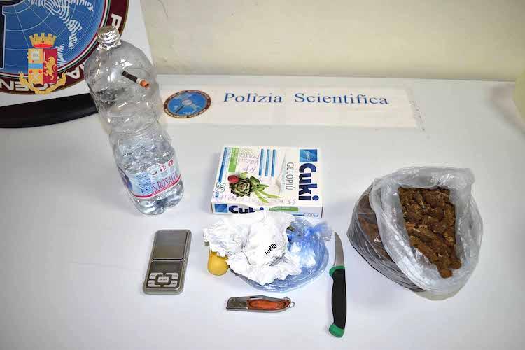 Marijuana, cocaina e hashish  in casa, arrestato 37enne messinese