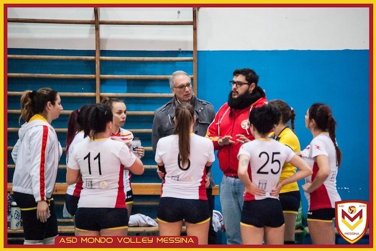 Le ragazze del Mondo Volley Messina firmano il tris nel campionato di Prima Divisione