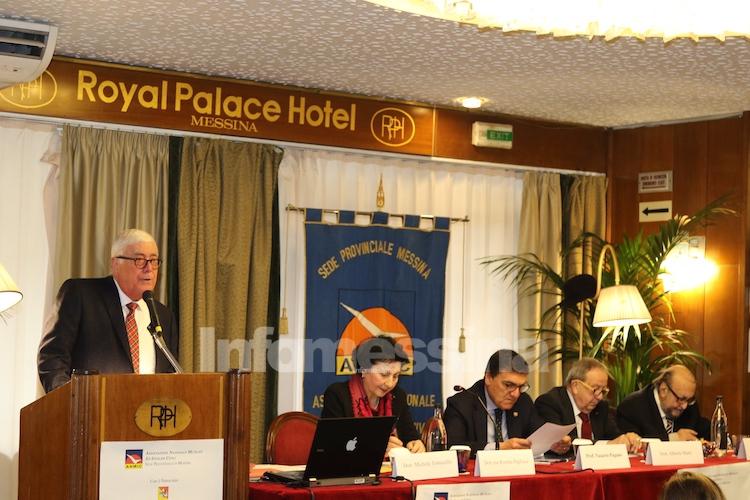 Congresso provinciale A.N.M.I.C. Messina, Tomasello presidente provinciale, vicepresidente Pagliuca