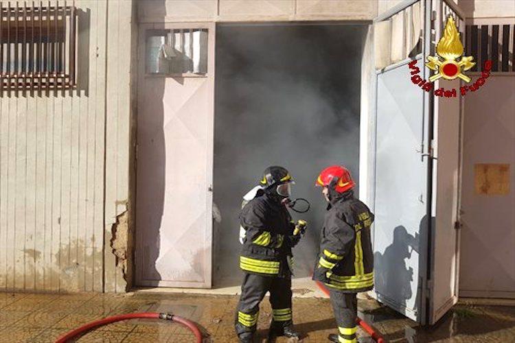 Incendio in un dell'Ospedale Papardo, sul posto i Vigili del Fuoco