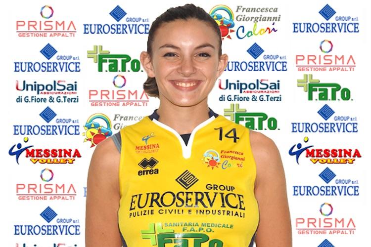 Il Messina Volley conferma l'opposto Francesca Cannizzaro