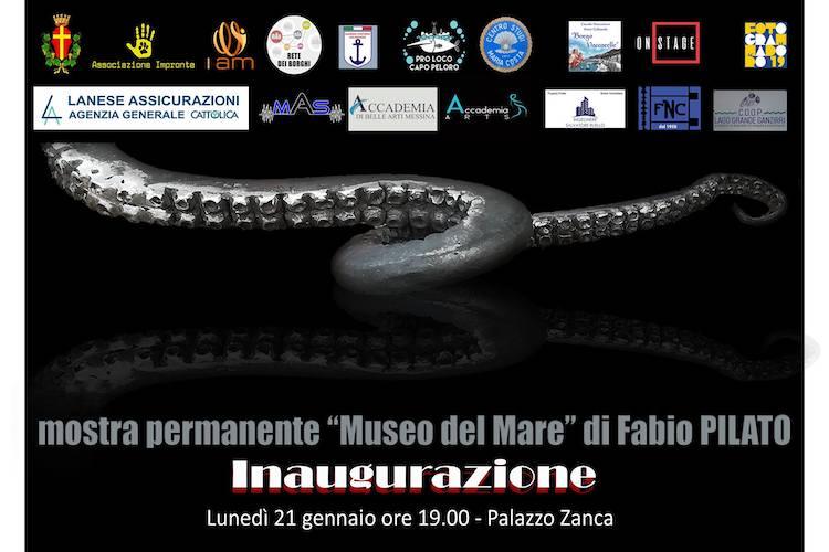 Fabio Pilato dona a Messina uno splendido Museo del Mare, inaugurazione il 21 gennaio