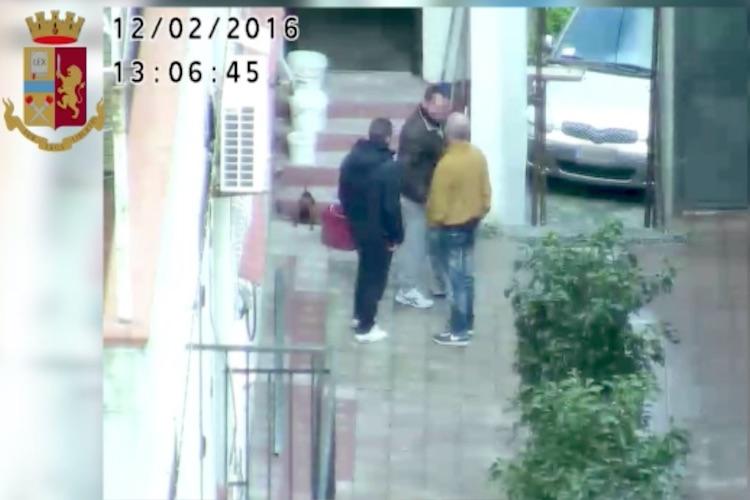 """""""Operazione Fortino"""", il VIDEO che incastra gli arrestati dalla Polizia di Stato"""