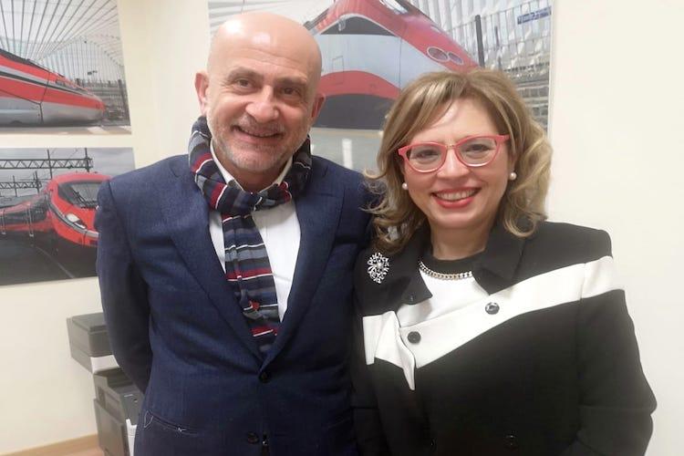 """Trenitalia promette un """"brodino"""" all'on. Bucalo: """"Garantiremo treni più puntuali"""""""