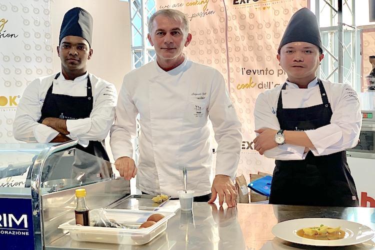 """""""Pane ca meusa"""" trasformato dallo chef Caliri in piatto d'alta cucina"""