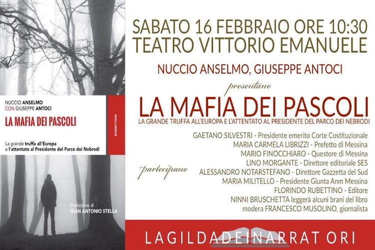 """""""La mafia dei pascoli"""", il libro di Nuccio Anselmo e Giuseppe Antoci"""