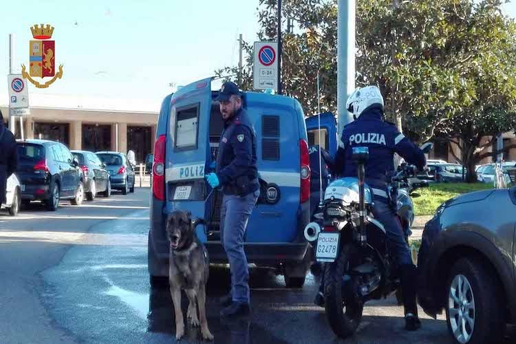Spaccio stupefacenti. La Polizia di Stato intensifica i controlli nelle varie piazze cittadine