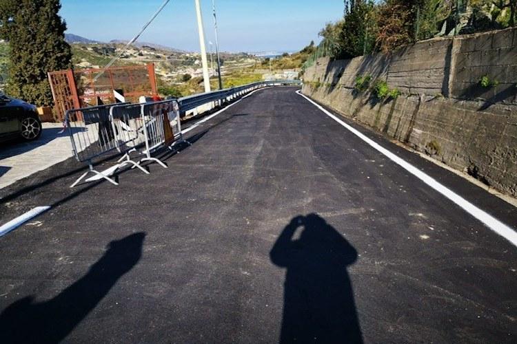Riaperta la via Annibale che da Camaro conduce a Bordonaro