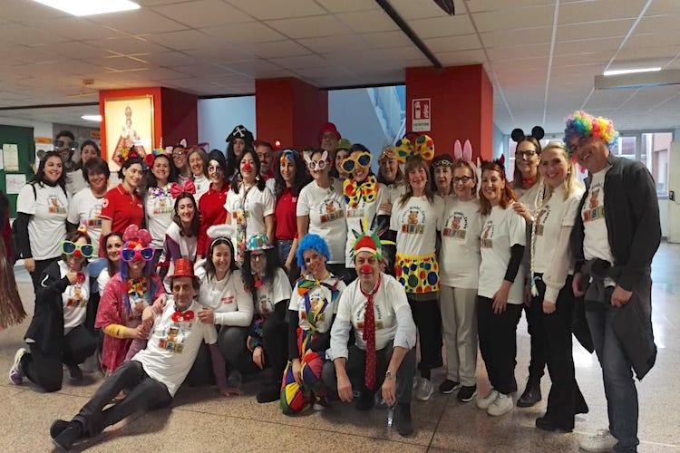 ABC e CRI festeggiano il Carnevale con i bimbi ospedalizzati del Policlinico