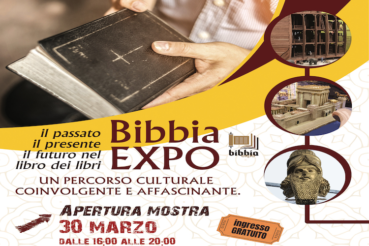 Bibbia Expo, mostra per promuovere la conoscenza dei testi sacri