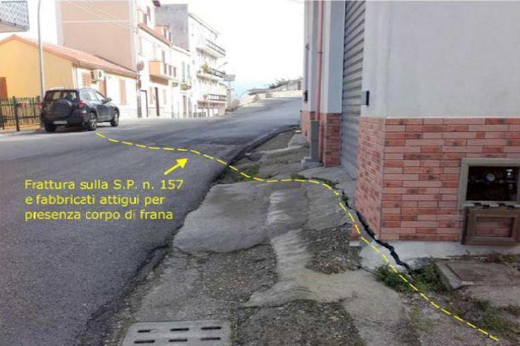 In arrivo 240 mila euro per bloccare i movimenti franosi a Mirto