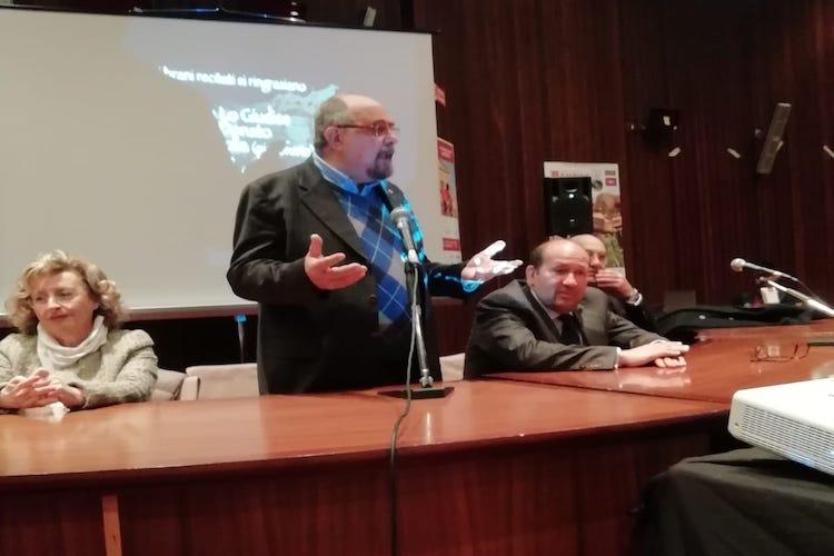 Il prof. Saija promotore del progetto sul museo dell'emigrazione ad Agrigento