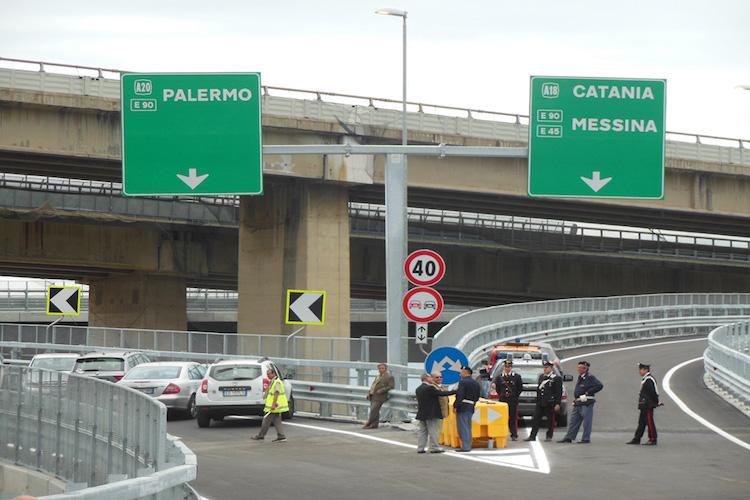 Svincolo Giostra, disposta l'interruzione saltuaria del traffico in orario notturno