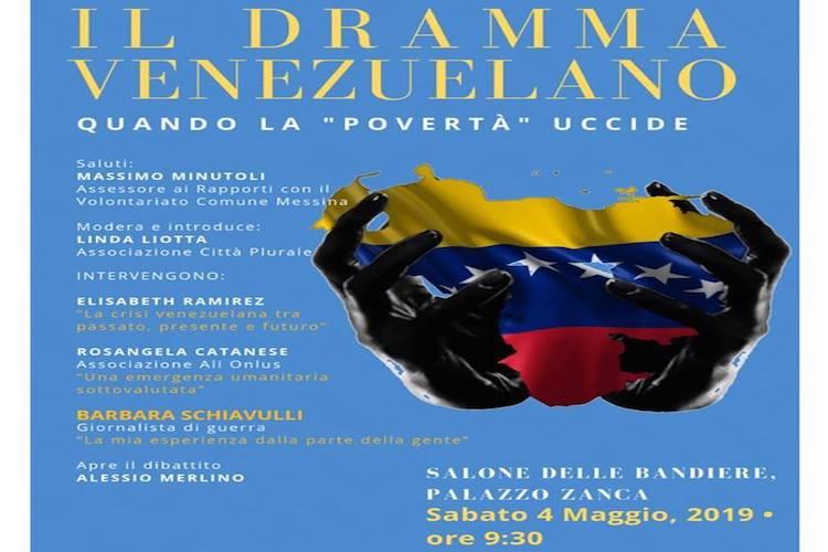Il dramma venezuelano raccontato durante un convegno a Messina