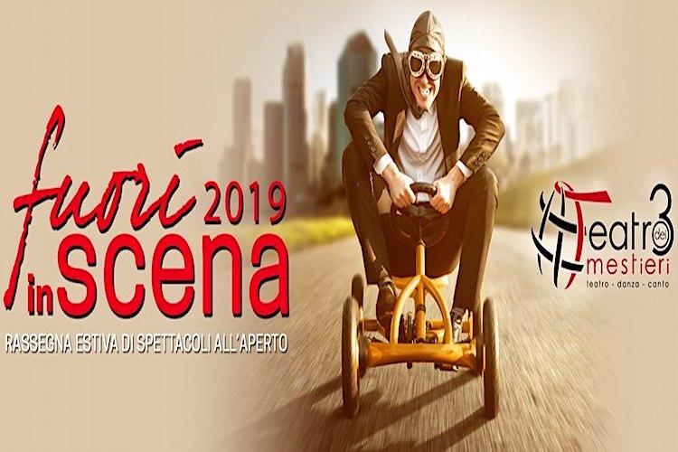 """Cabaret, teatro, musica e cinema, """"Fuori in Scena 2019"""", il cartellone degli eventi estivi al Teatro dei 3 Mestieri"""