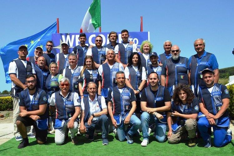 L'Italia a caccia del titolo Europeo di tiro a volo al Tav di Castanea