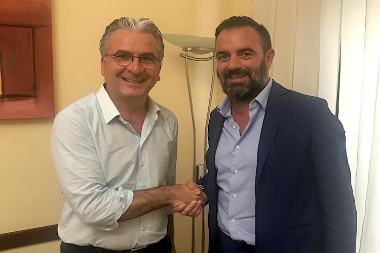 Dopo l'incontro taorminese con Pietro Franza, Rocco Arena perfeziona l'acquisto del CdM